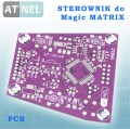 STEROWNIK m1284p - Magic MATRIX PCB