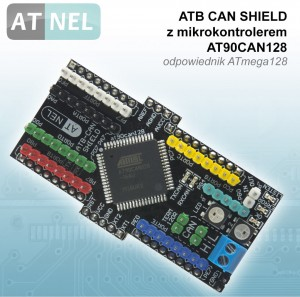 ATB CAN SHIELD - AT90CAN128
