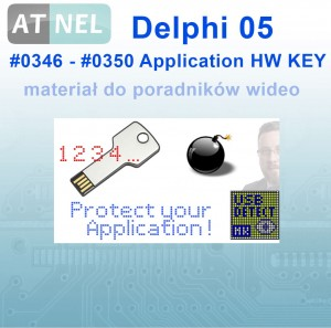 #346_#350 Delphi 05 - Application Hardware Key