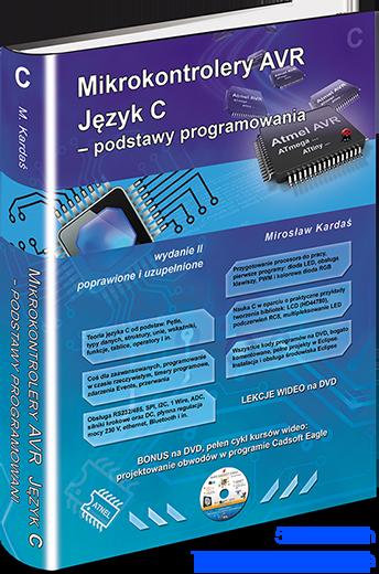 Mikrokontrolery Avr Jezyk C Podstawy Programowania Pl Atb Usbasp 4 2 Mkavrcalculator Delphi Atnel Usb Pack Sklep Atnel